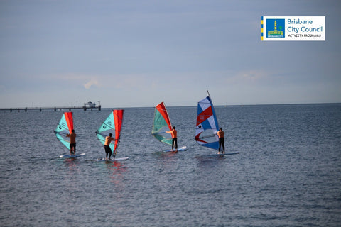 Windsurfing Brisbane City Council WS BCC