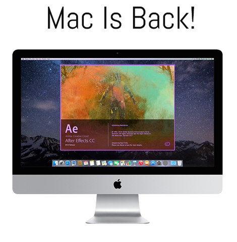 Mac OSX Support for CC 2015!