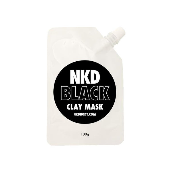 NKD CLAY MASK - BLACK