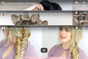3 Different Ways to Use Clip in Hair Extensions
