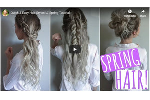 Quick & Easy Hairstyles to use with your Endless Hair Extensions!