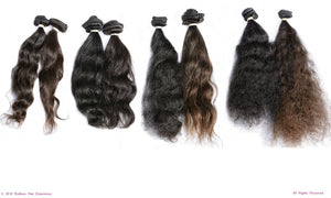 Endless Hair Extensions 100% Remy Raw Virgin Clip In and Sew In Human Hair Extensions
