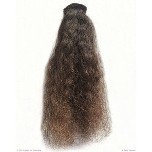 Remy Indian Hair Extensions (Brown Sew In Curly Extra Kinky Frizzy) - Endless Hair Extensions