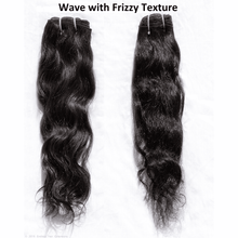 Endless Hair Extensions' Clip In Natural Brown Wave with Frizzy Texture