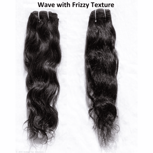 Remy Indian Hair Extensions (Brown Smooth Wave Minimal Frizzy) - Endless Hair Extensions
