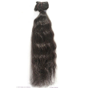 Remy Indian Hair Extensions (Brown Curly Minimal Frizzy) - Endless Hair Extensions