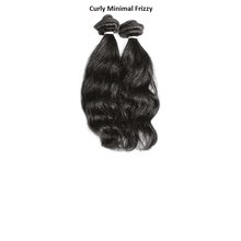 Endless Hair Extensions' Sew In Brown #2 Curly Minimal Frizzy Texture