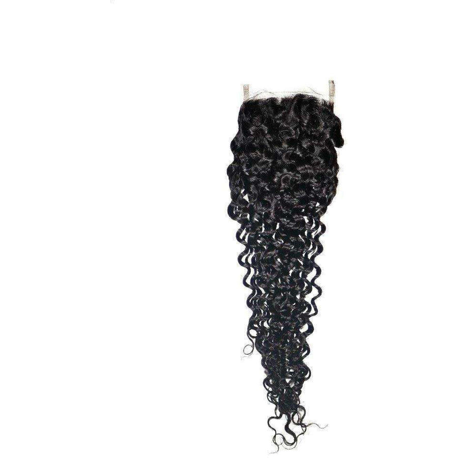 Brazilian Kinky Curly Closure - Hair Extensions