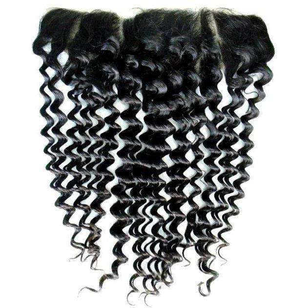Brazilian Deep Wave Lace Frontal - Hair Extensions