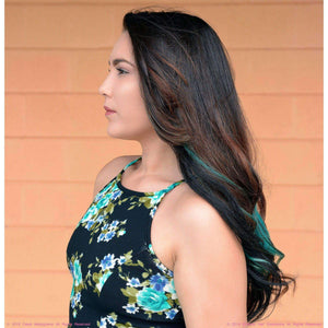 Remy Indian Hair Extensions (Black Sew In Coarse Straight Wave) - Endless Hair Extensions