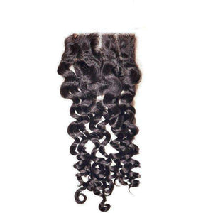 Brazilian Spanish Wave Closure - Hair Extensions