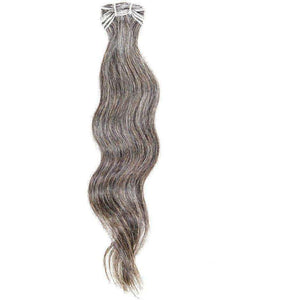 Vietnamese Natural Gray Hair Extensions - Hair Extensions