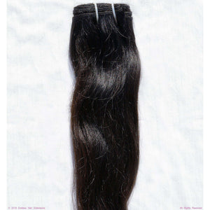 Remy Indian Hair Extensions (Brown Sew In Smooth Wave Minimal Frizzy) - Endless Hair Extensions