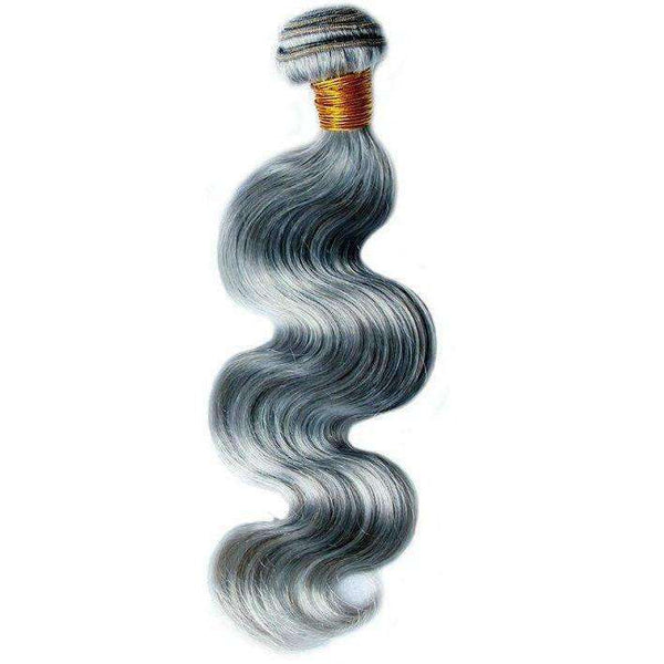 Brazilian Hair Extensions (Gray Body Wave) - Hair Extensions