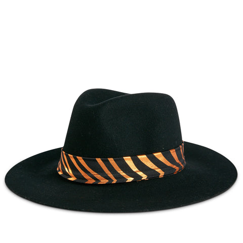 Fancy Fedora Tiger Stripe Hat Band