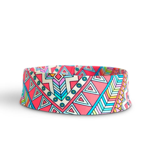 Aztec Pink Hat Band