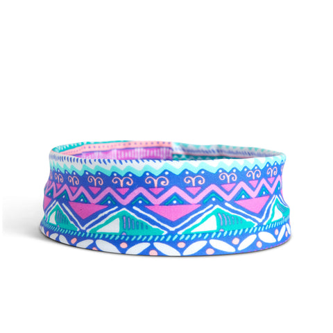 Fancy Fedora Blue Aztec Hat Band