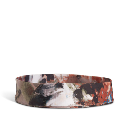 Fancy Fedora Brown Floral Hat Band