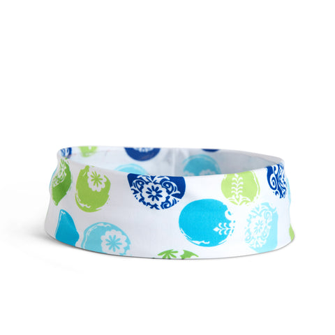 Fancy Fedora Circle Print Hat Band