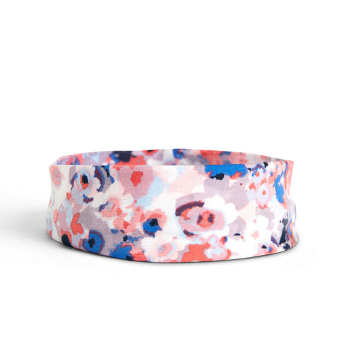 Fancy Fedora Floral Print Hat Band