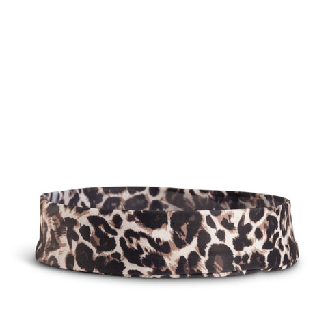 Fancy Fedora Leopard Print Hat Band