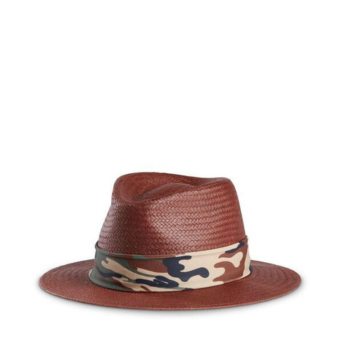 Fancy Fedora Green Camo Hat Band