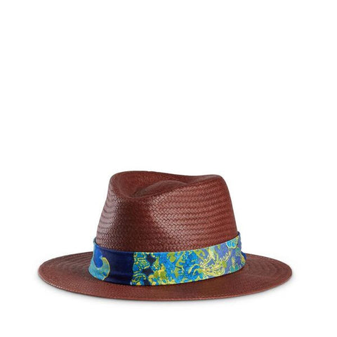 Bali Hat Band on straw Hat