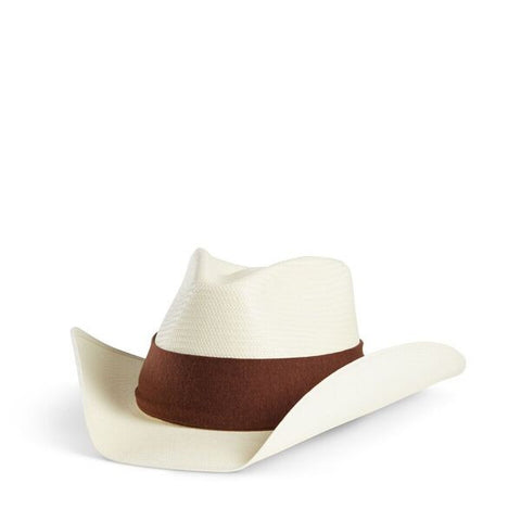 Fancy Fedora Burnt Brown on Austin Hat