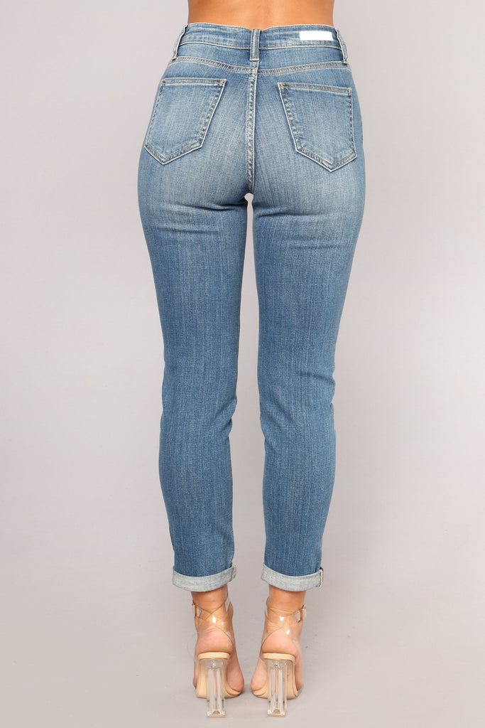 *COMING SOON* ShadesOfBlu Ankle Jeans - Light Blue Wash