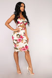 *COMING SOON* Flower Twist Tropical  Dress