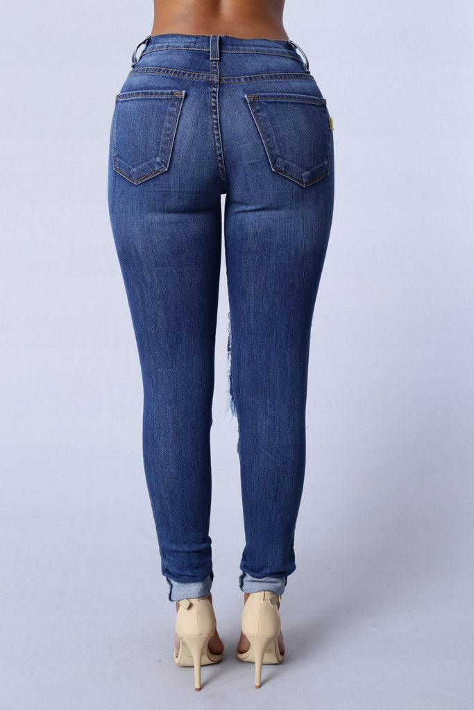 *COMING SOON* Beach Bum Jeans - Medium Blue