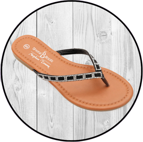 K Amiee Two Strap Footbed Wht Sandals