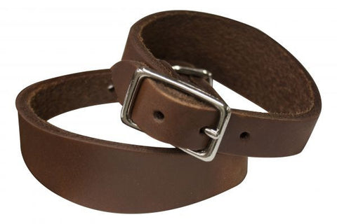 Oiled Harness Leather Stirrup Hobbles