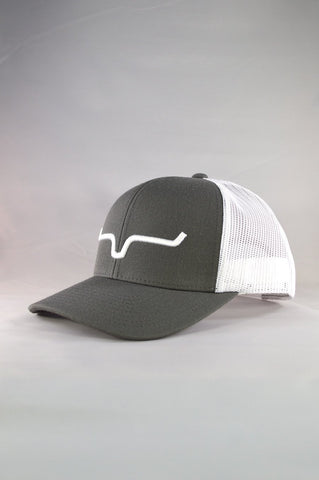 Charcoal Weekly Trucker Cap by Kimes Ranch