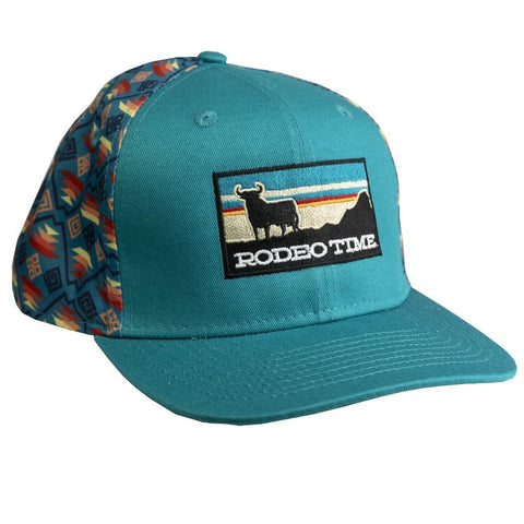 Sunset Santa Fe Teal Cap