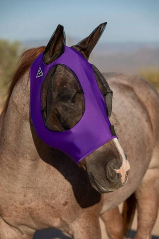Comfort Fit Lycra Fly Mask by Professional's Choice