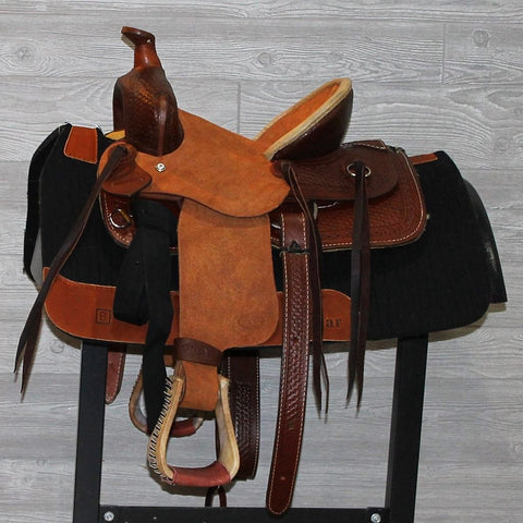 "12"" Heart of Texas Buckaroo Saddle"