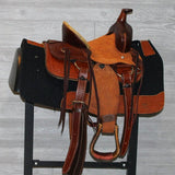 "10"" Heart of Texas Buckaroo Saddle"