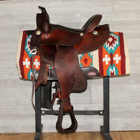 "15"" Continental Saddlery Reining Saddle"