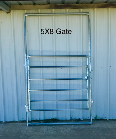 5'x8' Ride Through Gate