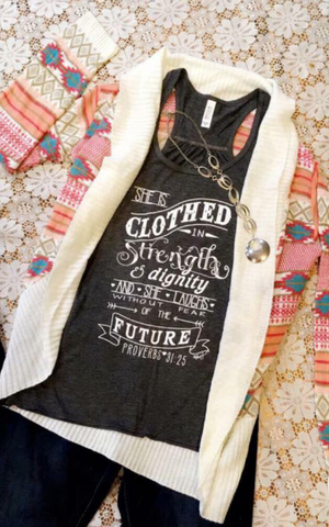Proverbs 31 Tank Top