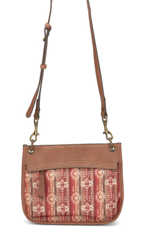 Justin Sunset Aztec Shoulder Bag