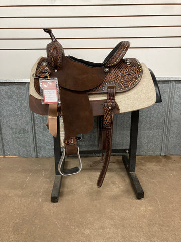 "14.5"" Double J Pozzi Barrel Saddle"