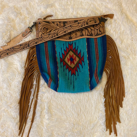 American Darling Saddle Blanket Bag