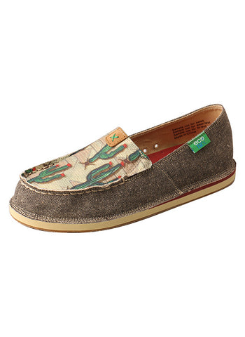 Women's Twisted X Cactus Slip-On Loafers