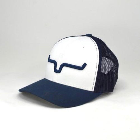 Weekly Trucker - Reverse Navy/White