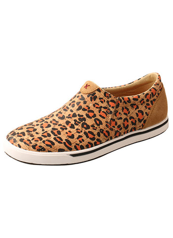 Women's Twisted X Cheetah Slip Ons