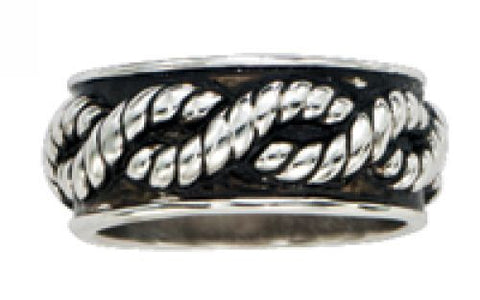 Montana Silversmith Double Rope Ring