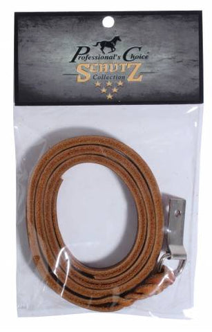 Plaited Saddle String With Concho Tie