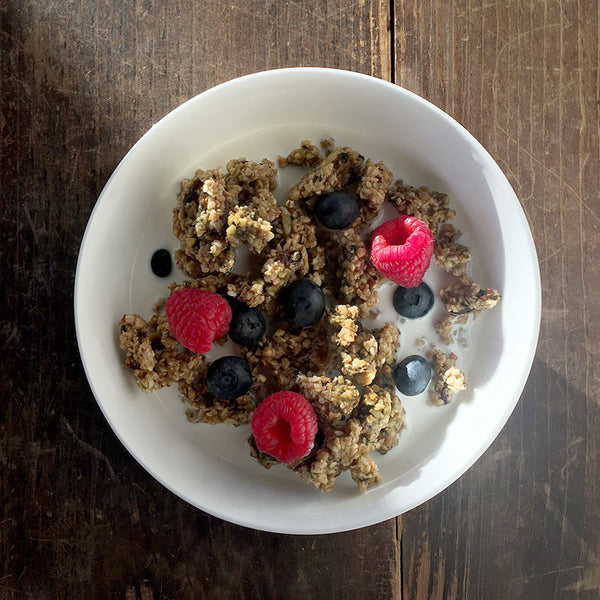 Buckwheat Hemp Granola